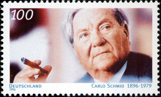 Stamp_Germany_1996_Briefmarke_Carlo_Schmid